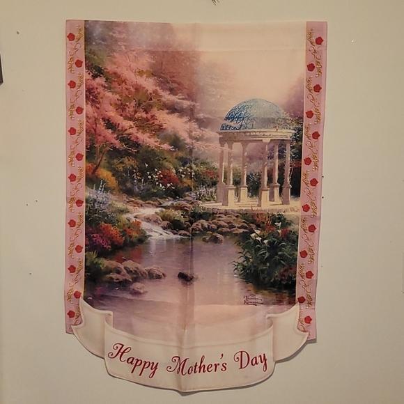 Thomas Kinkade Happy Mothers Day Flag